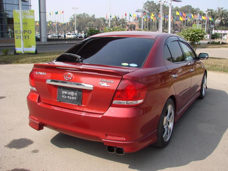 Super Fresh Lexus Allion 2006 Red Wine Color Clickbd