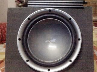 Sub woofer amp