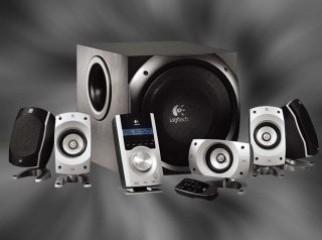 Logitech Z 5500 Digital 5.1 PC speaker 02 years waaranty