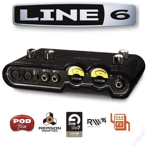 want to buy a line 6 pod UX2 sound card | ClickBD large image 0