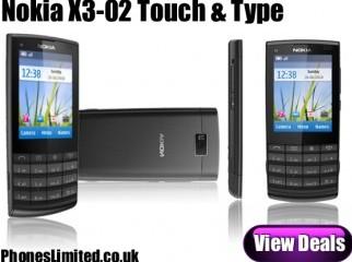 Nokia X3-02 Touch n Typ. 5MP WiFi Hungary BOX