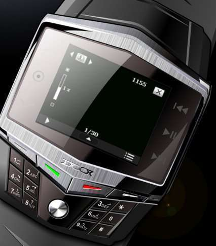Cell phone Wrist watch | ClickBD large image 1