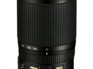 AF-S VR Zoom-Nikkor 70-300mm f 4.5-5.6G IF-ED- 01674604941