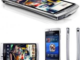 Sony Ericsson Arc Silver Color