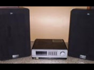 A 240 WATT STEREO SOUND SYSTEM FOR SALE