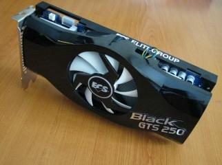 ECS GTS 250 DDR3 1GB Black Edition-1 Year Waranty