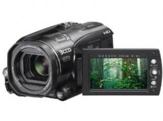 JVC Everio GZHD3 3CCD 60GB HDD High Definition Camcorder