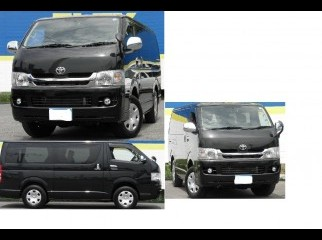LIKE NEW Toyota Hiace2009 DarkBlack 12000KM 6Mnths warranty