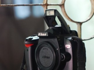 Nikon D60 DSLR Camera with Power Grip