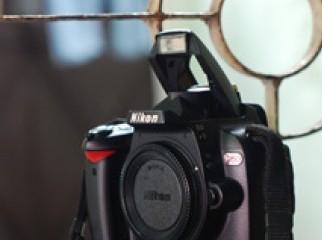 Nikon D60 DSLR Camera with Power Grip
