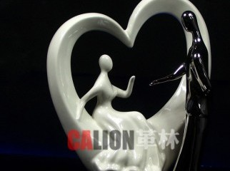 Best Gifts heart-shaped hollow couple decoration handicraf
