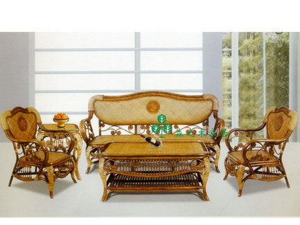 Forsale stylish rattan furniture rattan chair rattan table | ClickBD large image 0