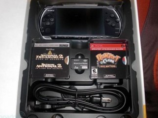 PSP 3000 black very cheap with loads of things
