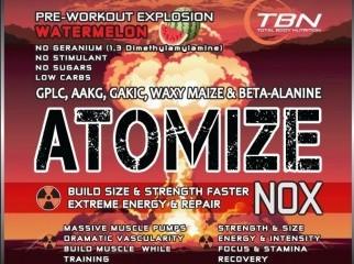 Pre Workout ATOMIZE Pre Workout NOX Detonator