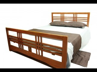 100 Solid Wooden Bed