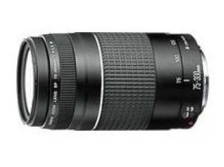 Canon EF 75-300mm f 4-5.6 USM Telephoto Zoom Lens
