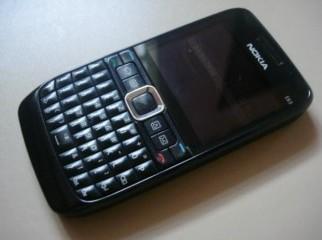 Nokia E63 brand new. Only 7000 taka. Black colour