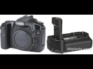 Canon 40D with Vertical Grip and dual battery