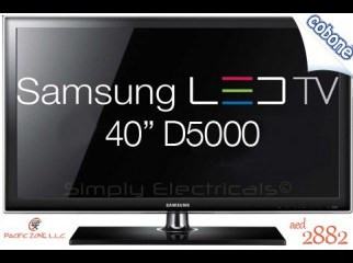 Samsung 40 LED D5000 with 5 years warranty