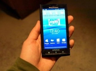 sony ericsson XPERIA X10 i full touch phone