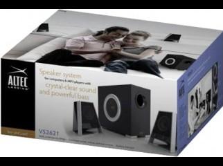 Altec Lansing VS2621 2.1-CH PC multimedia speaker sys