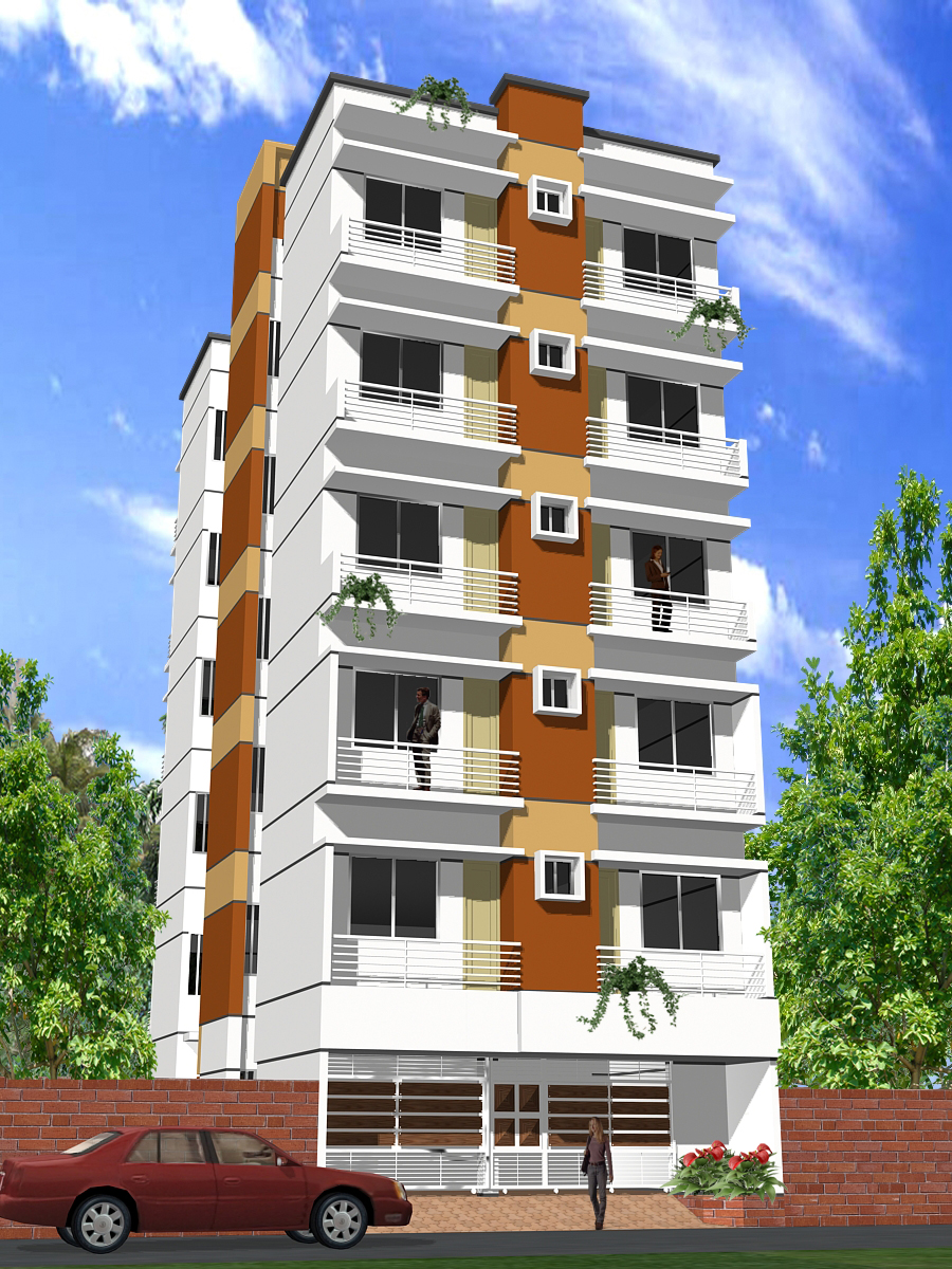 Flat akgkon matrrichaya at mirpur clickbd for Bangladeshi home design picture