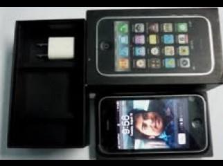 I-Phone 3GS Black Made in California USA.