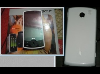 The Acer beTouch E100 is a Microsoft Windows Mobile 6.5