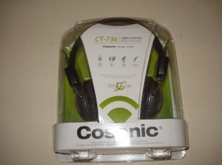 Cosonic Model No. CT-736 Stereo Headphone