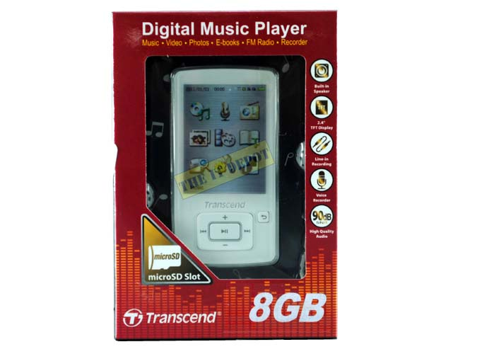 Brand New Transend MP4-8GB-Memory Slot-Speaker-3gp | ClickBD large image 0