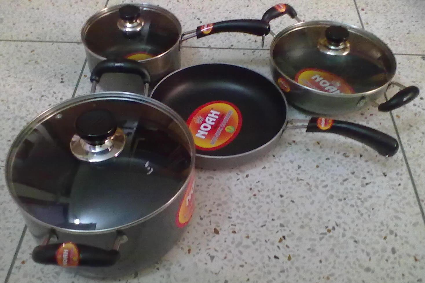 Noah Non Stick Frying Pan Set | ClickBD large image 0