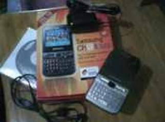 samsung dual.chat322 with box and all