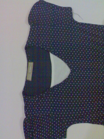 Ladies Dot allover print stock lot item. | ClickBD large image 1