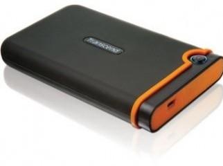 Transcend 500GB StoreJet 25M Portable Hard Drive Black