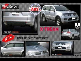 body kits and items for PAJERO SPORT