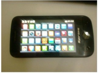 SPRINT E600 TOUCH PHONE in 3500TK Price is negotiable