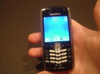BlackBerry 8100.