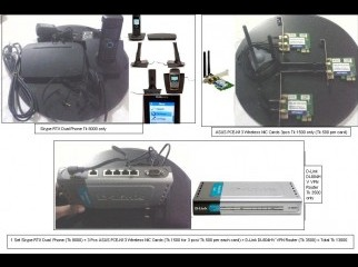 Skype RTX dual phone Dlink VPN Router and ASUS wireless NIC