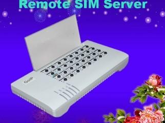 gsm remote sim bank 32 slot