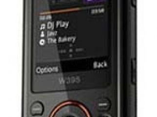 Sony Ericsson W-395i