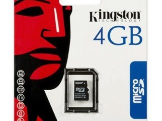 4GB Micro SD memory card with life time warranty