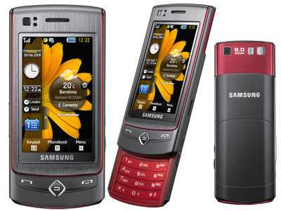 samsung touch and type and slide low price s8300 clickbd