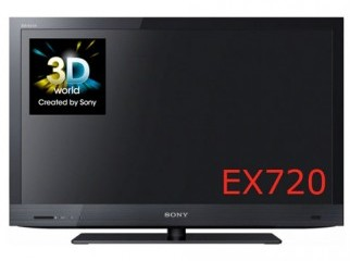 Sony EX 720 KDL-55EX720. 55 inch 3D led