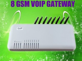 Stock in Dk low price good service 8 port gsm gateway