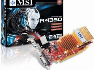 PCI Graphics Card ATI Radeon HD 4350 512 Mb
