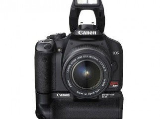 Canon 450D Vertical Grip 2 Batteries Box everything