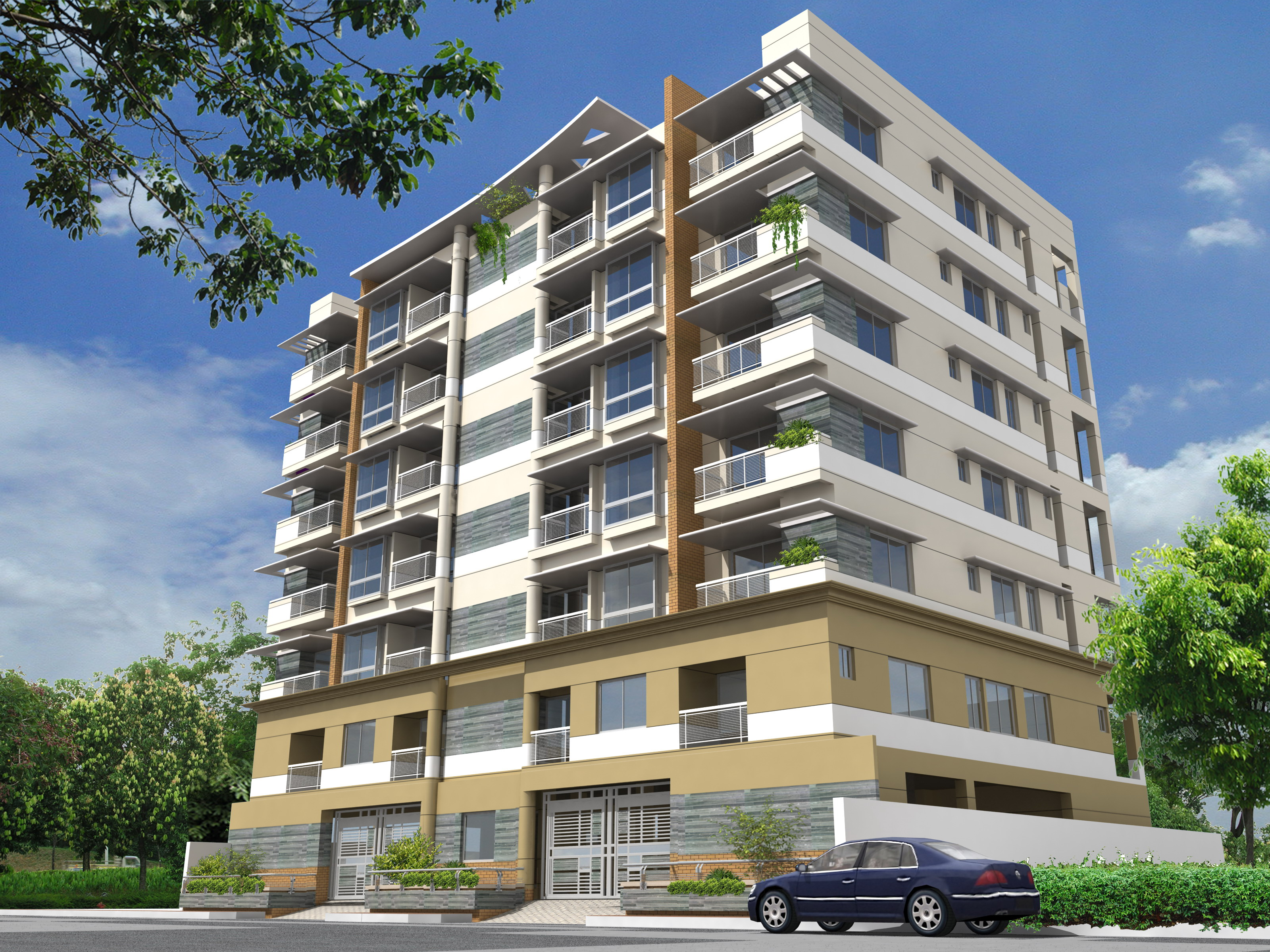 FLAT FOR SALE AT MIRPUR DOHS | ClickBD large image 0