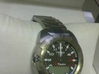 Tissot T Touch Expert Titanium Mens Watch