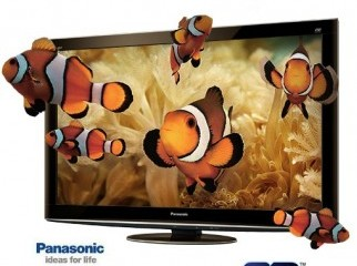 Panasonic 3D VIERRA LCD 42 with 4 3D GLASS X SERIES NEW