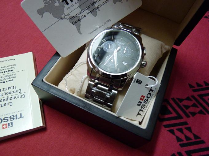 BRAND NEW ORIGINAL TISSOT T-SPORTS CHRONOGRAPH BOXED  | ClickBD large image 0